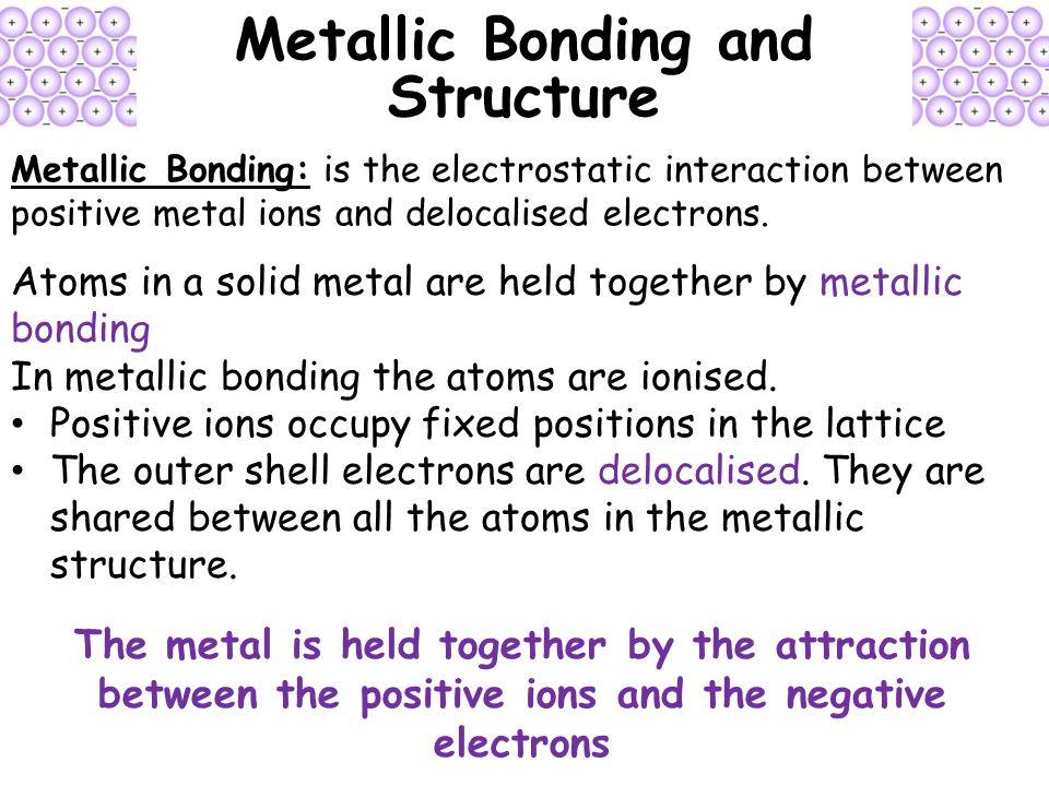Metallic Bonding : www.pixshark.com - Images Galleries ...