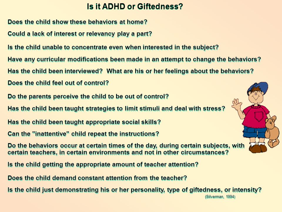 Is it ADHD or Giftedness