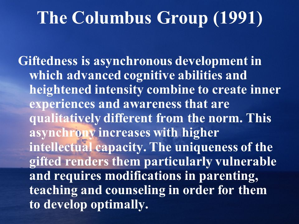 The Columbus Group (1991)