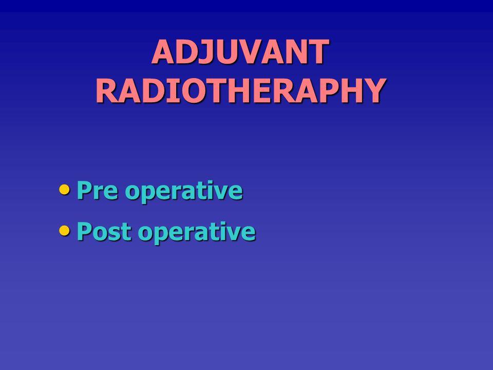 ADJUVANT RADIOTHERAPHY