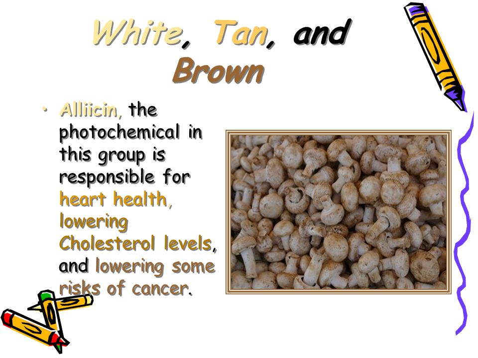 White, Tan, and Brown