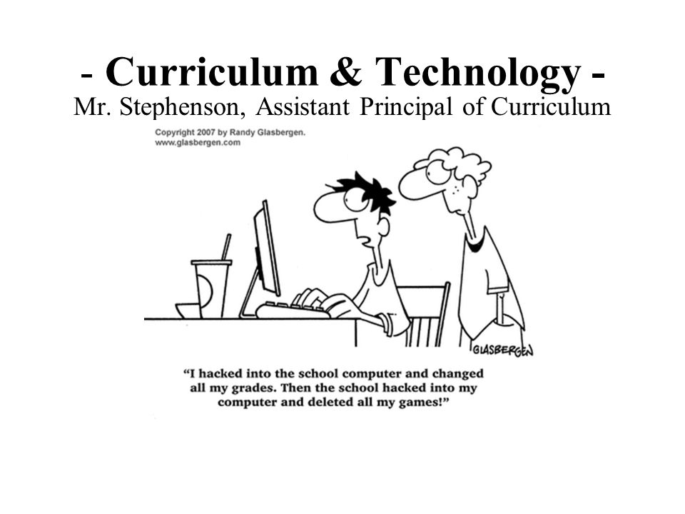 Curriculum & Technology -