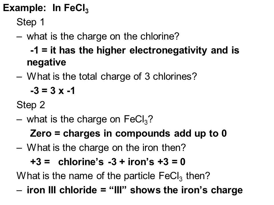 Electronegativity Of Iron ~ Mission b how do you name and write chemical formulas