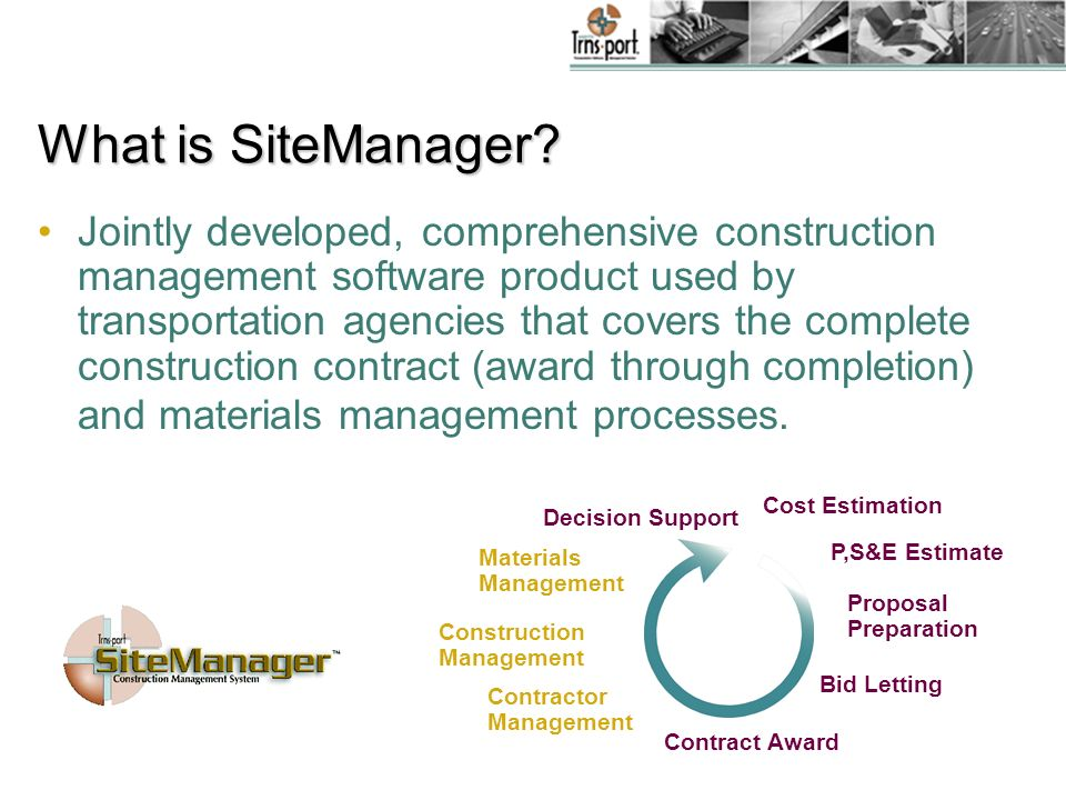 What is SiteManager