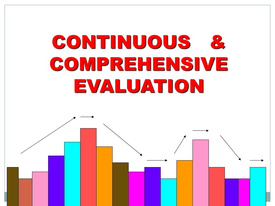 need of continuous and comprehensive evaluation A guide for comprehensive needs assessment • assists with continuous improvement breadth and depth will provide the most comprehensive picture of needs.