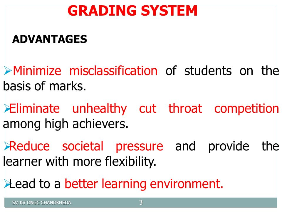 grading system adwanteges 44 case-study: implementing a new pay and grading system at cornwall county   the advantages of these narrow-graded structures from an employee's.