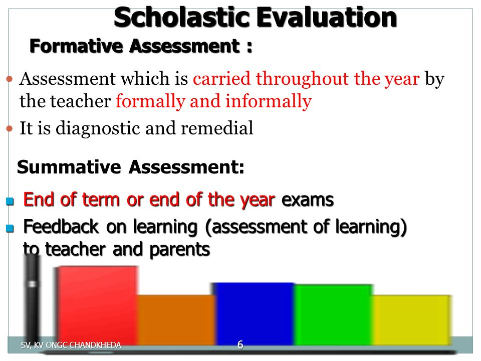 how to write an end of year summative assessment