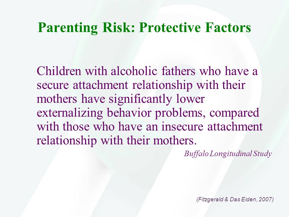 Parenting Risk: Protective Factors