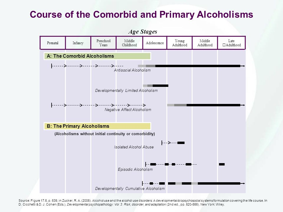 Course of the Comorbid and Primary Alcoholisms