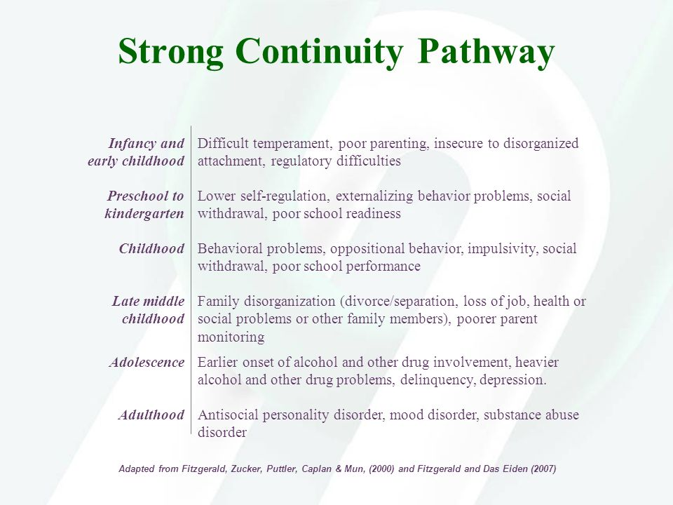 Strong Continuity Pathway