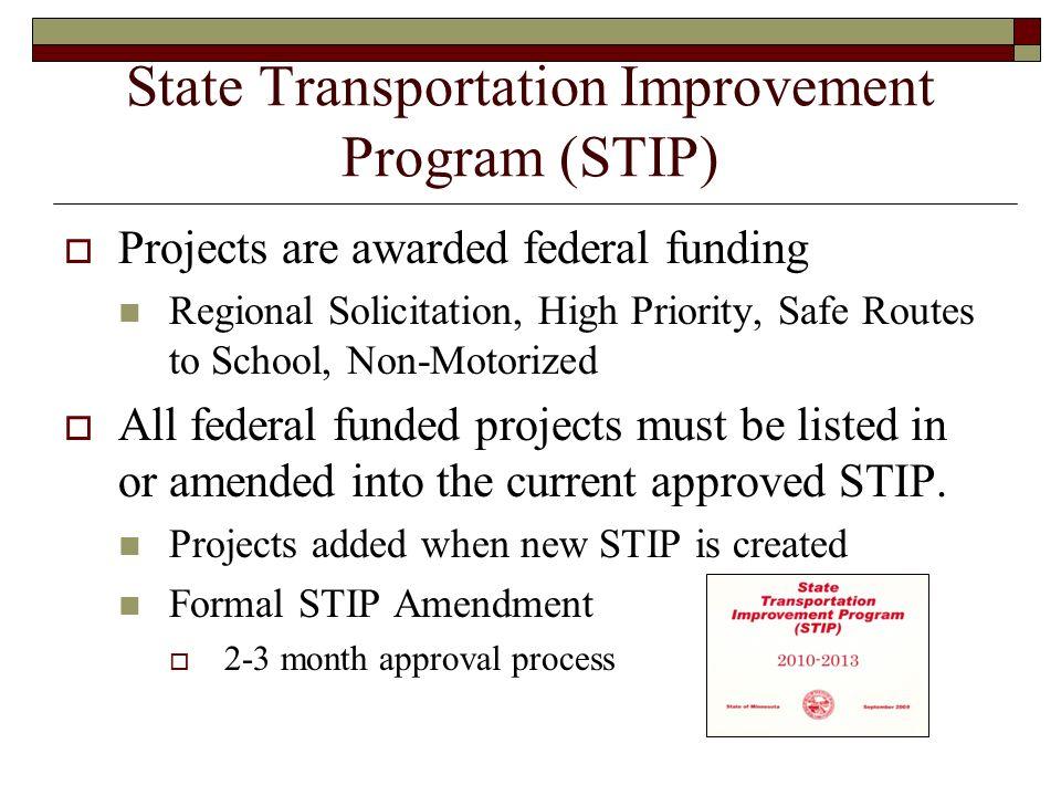 State Transportation Improvement Program (STIP)
