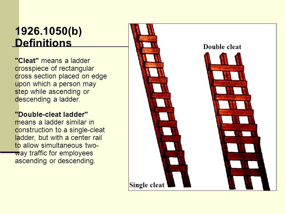 Ladder Safety Awareness Ppt Video Online Download