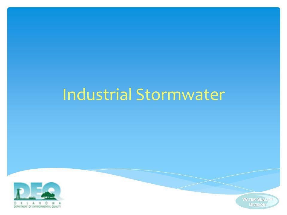 Industrial Stormwater