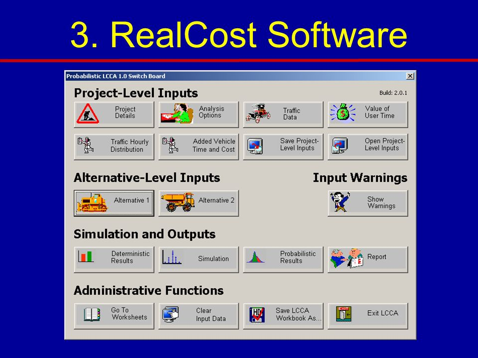 3. RealCost Software 3