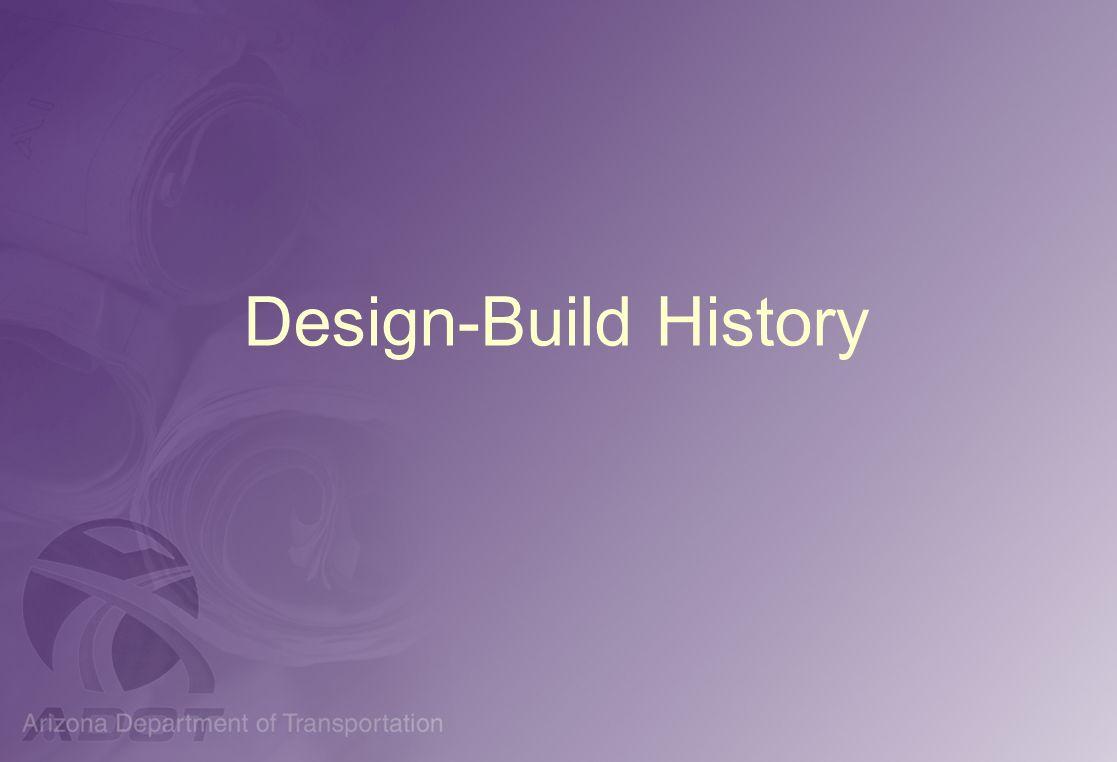 Design-Build History