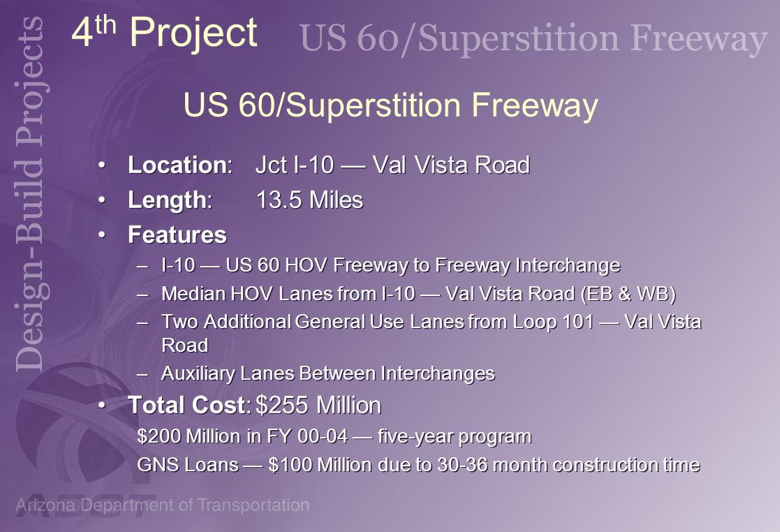 US 60/Superstition Freeway