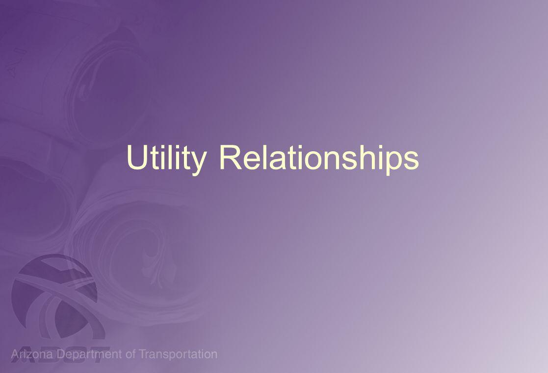 Utility Relationships