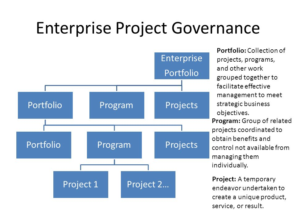 Enterprise Project Governance