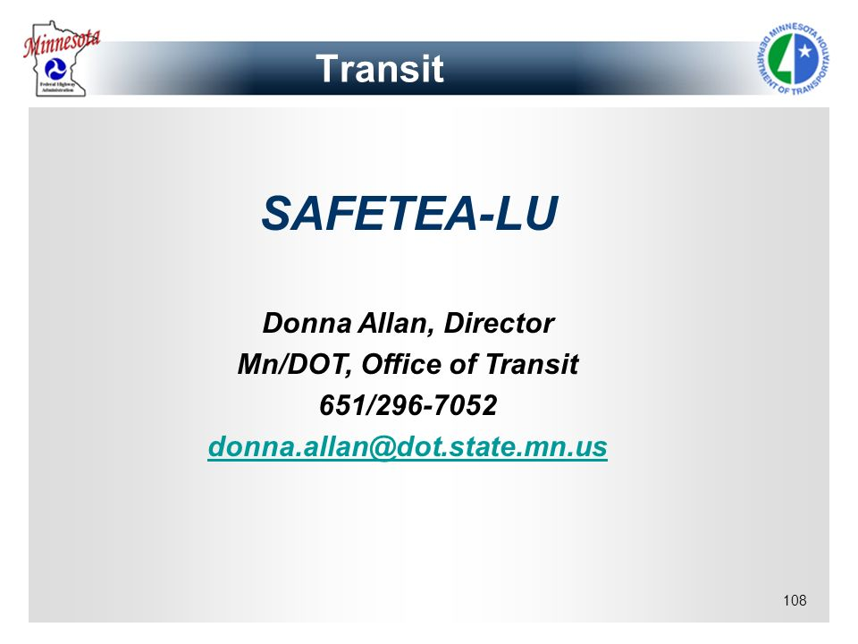 Mn/DOT, Office of Transit