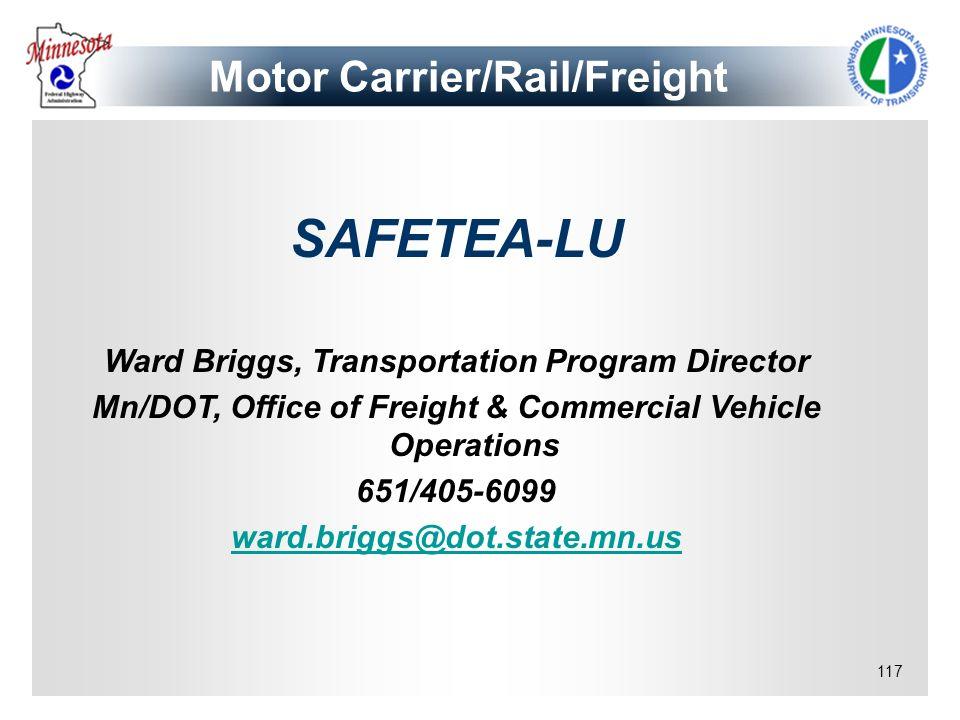 Motor Carrier/Rail/Freight
