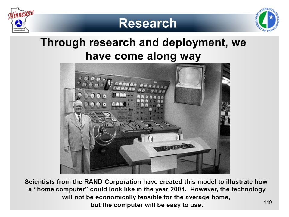 Research Through research and deployment, we have come along way