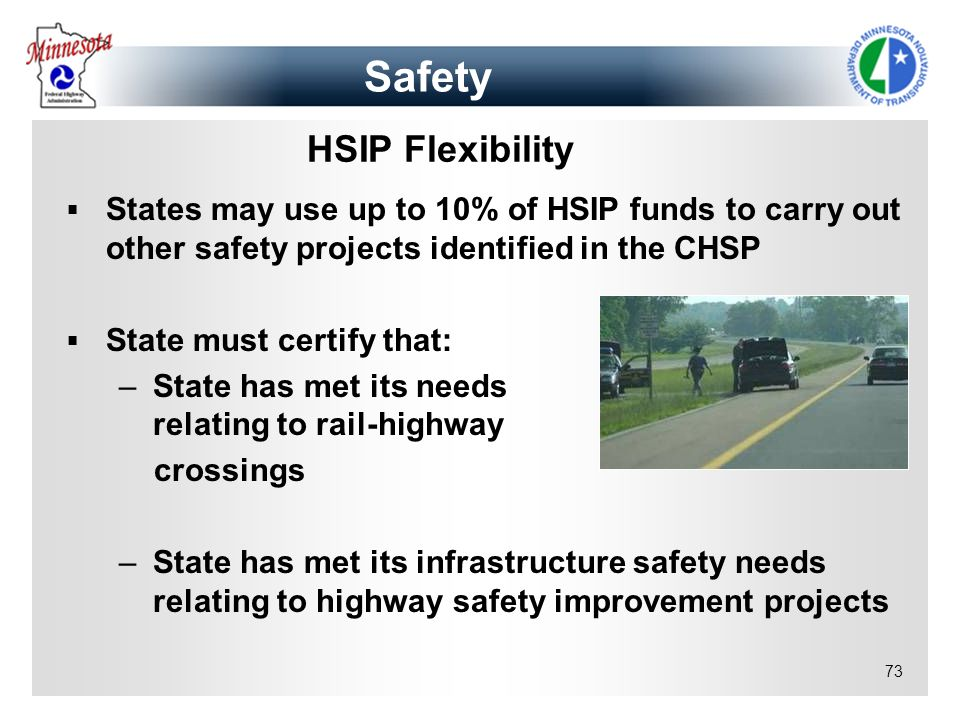 Safety HSIP Flexibility