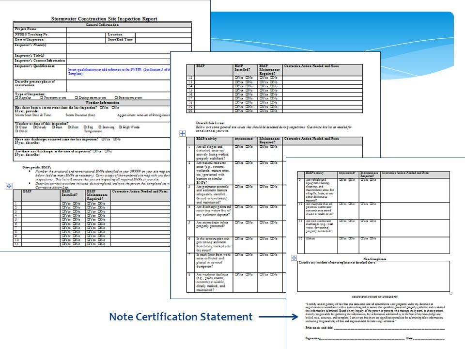 Note Certification Statement