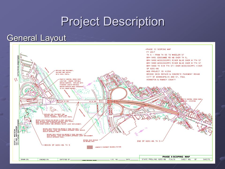Project Description General Layout