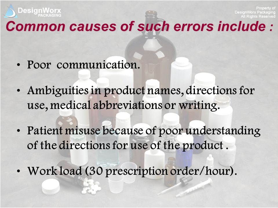 "causes of medication errors and methods A medication error can occur in any poor communication accounts for more than 60% of the root causes of sentinel 16 thoughts on ""medication errors."