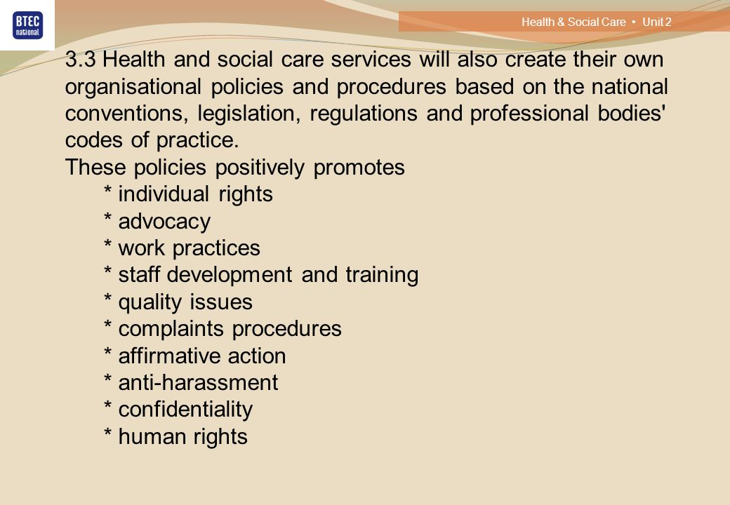 health and social care practice and Essay on health and safety in health and social care analyze the implementation of health and safety legislation in health and social care services.