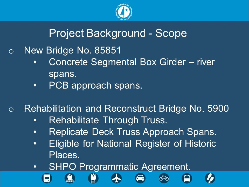 Project Background - Scope