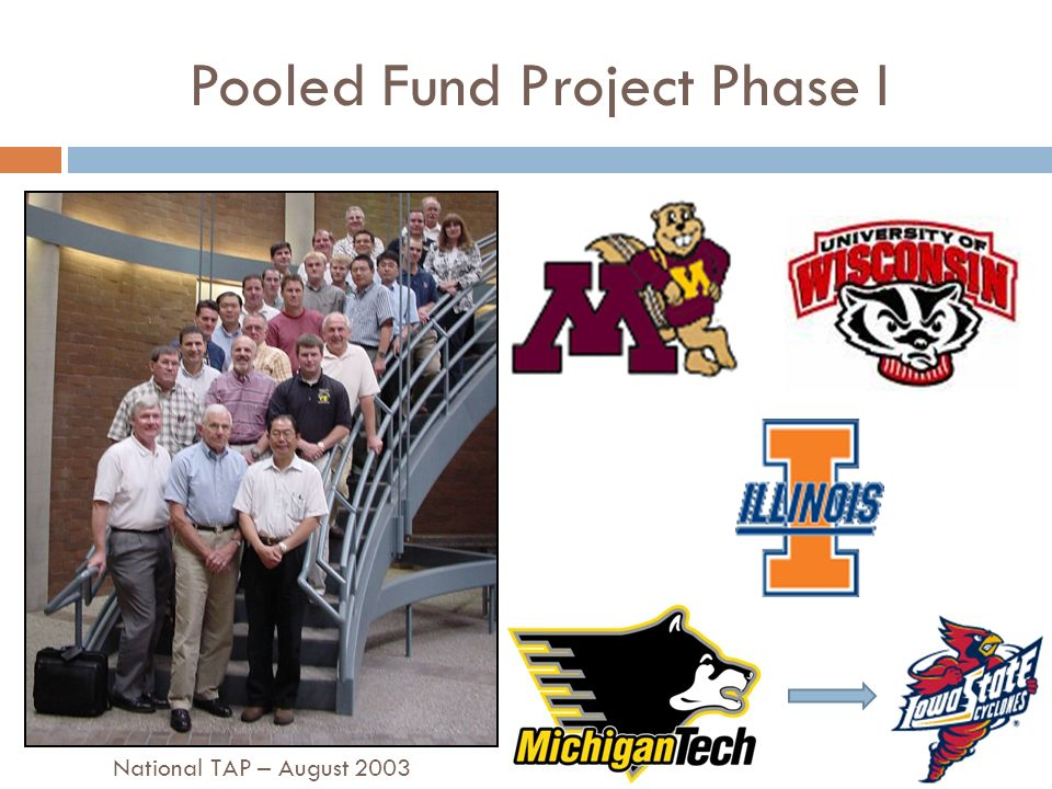 Pooled Fund Project Phase I