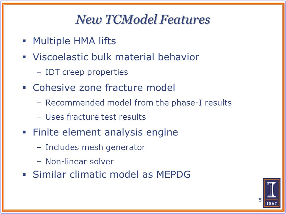 New TCModel Features Multiple HMA lifts