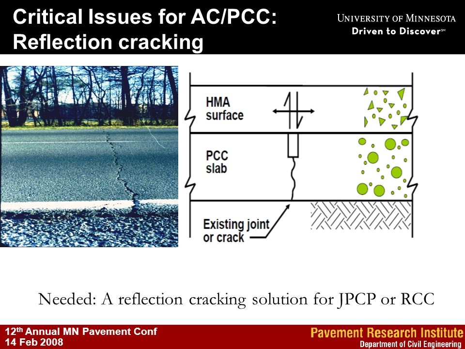 Needed: A reflection cracking solution for JPCP or RCC