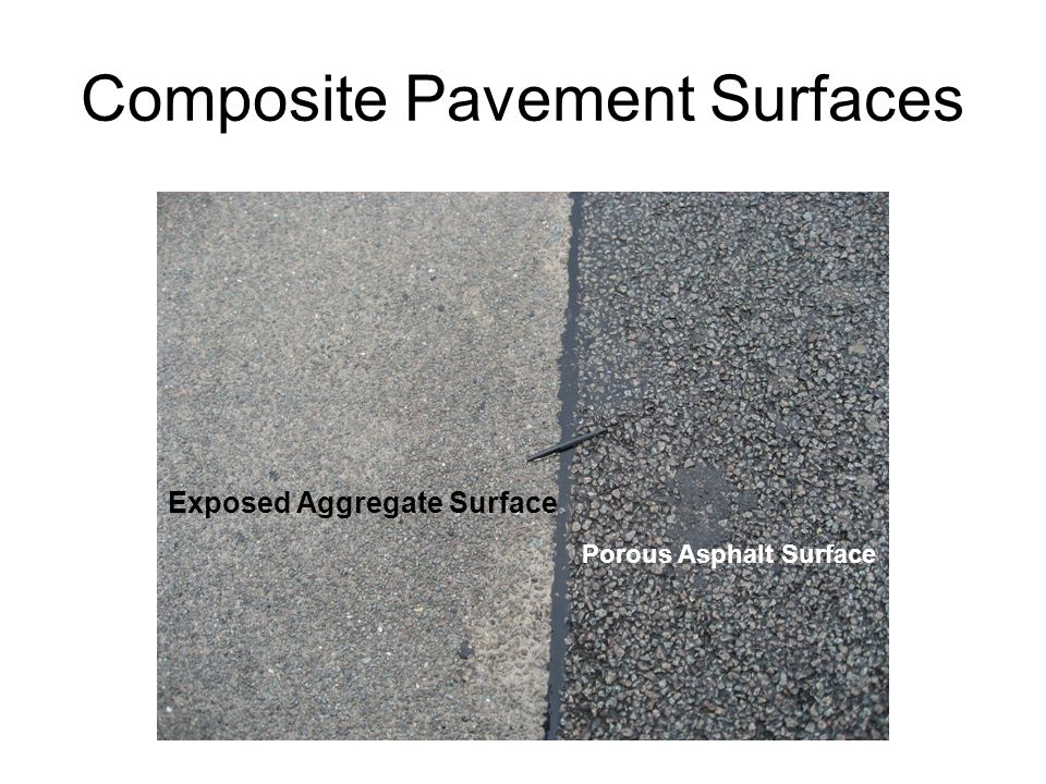 Composite Pavement Surfaces