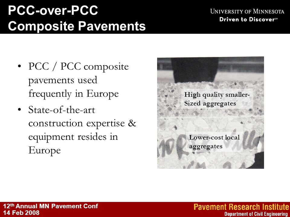 PCC-over-PCC Composite Pavements