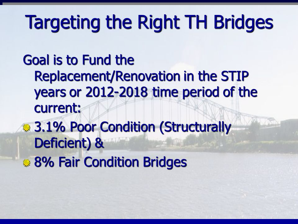 Targeting the Right TH Bridges
