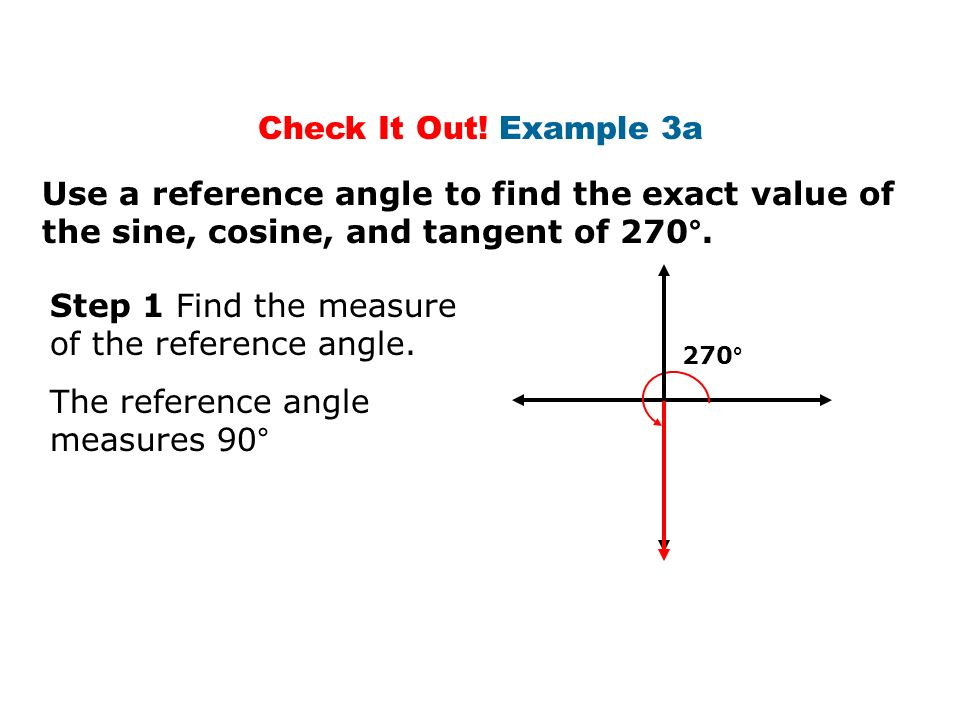 how to find the value of cos 24