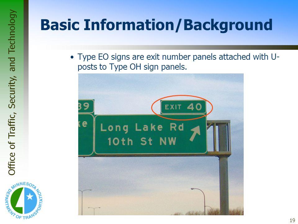 Basic Information/Background