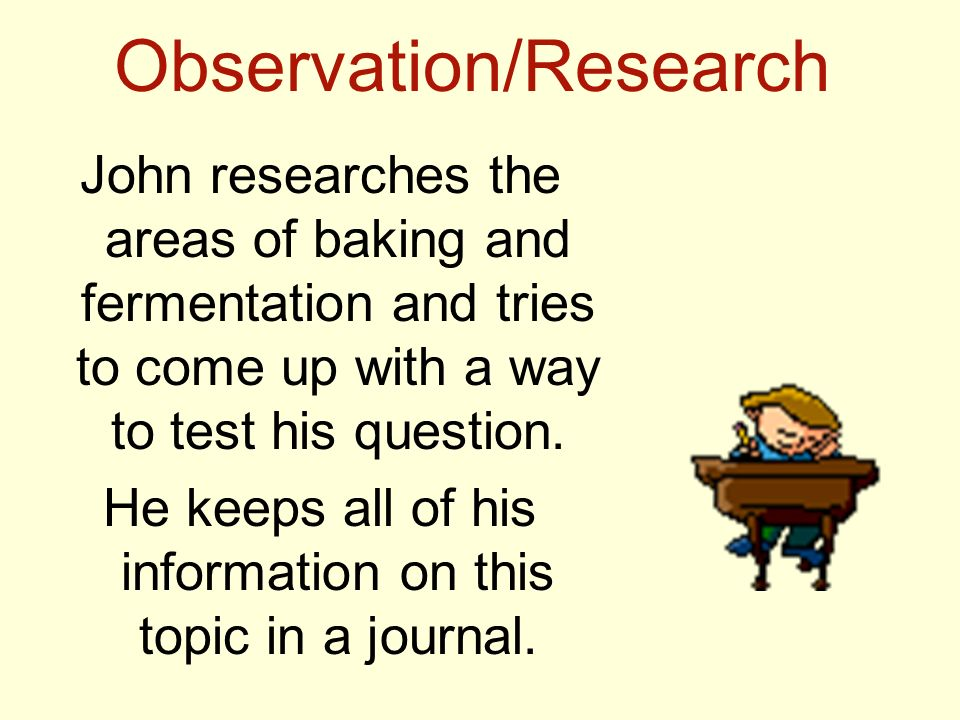 Observation/Research