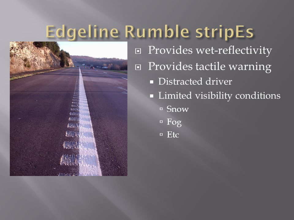 Edgeline Rumble stripEs