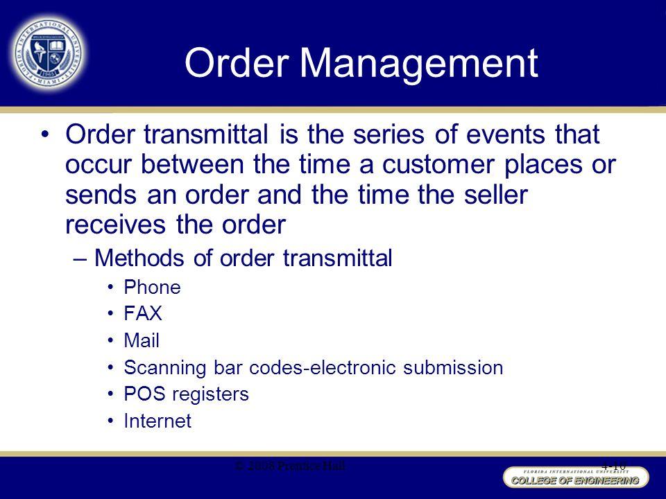 mail order management