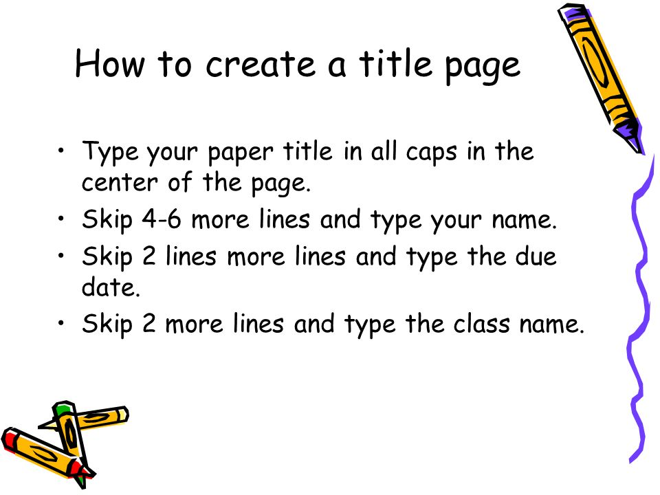 Research Paper Title Examples