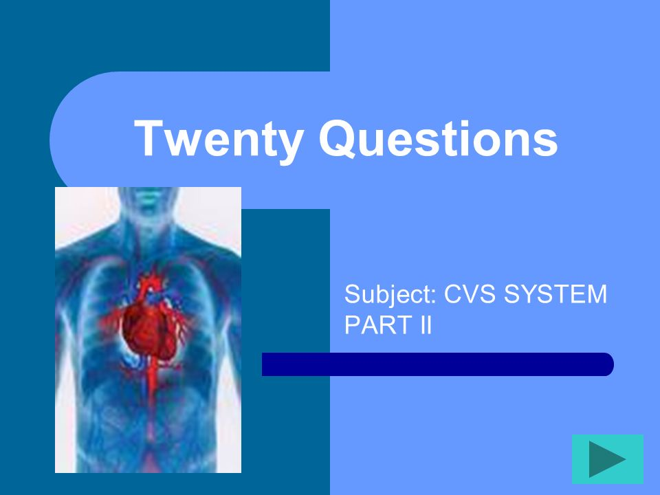 Subject: CVS SYSTEM PART II