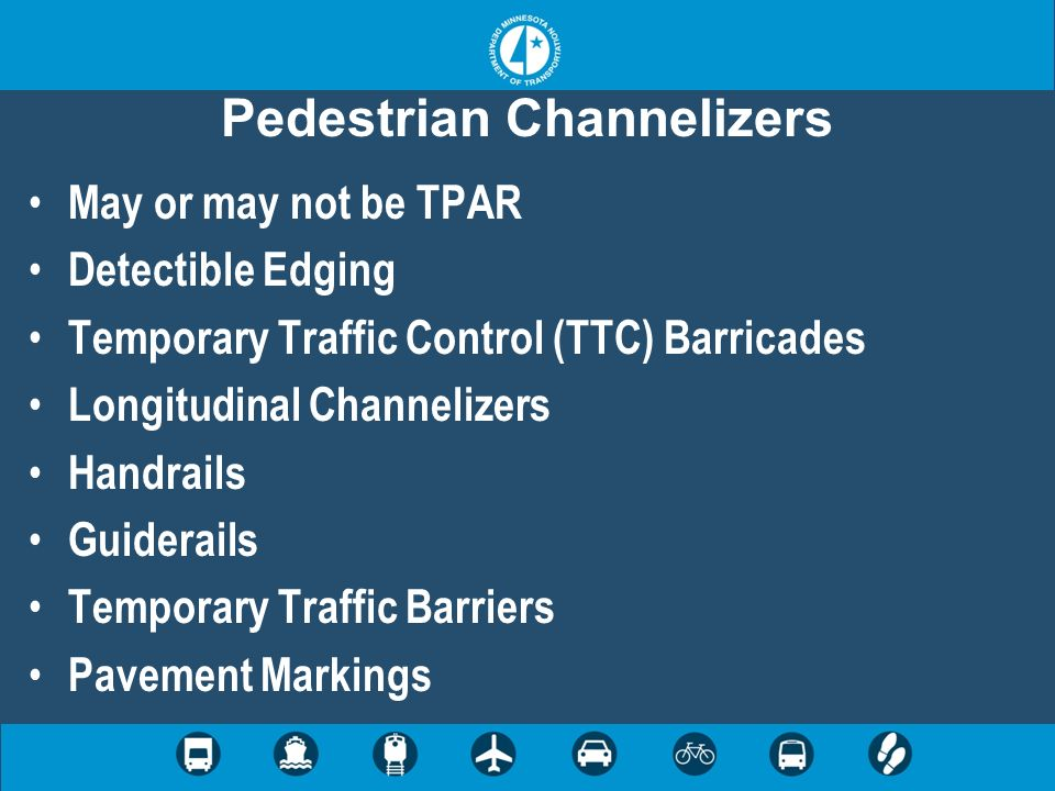 Pedestrian Channelizers
