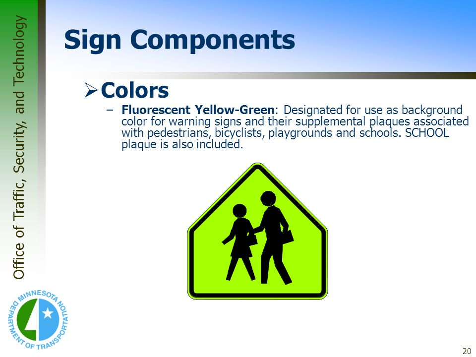 Sign Components Colors