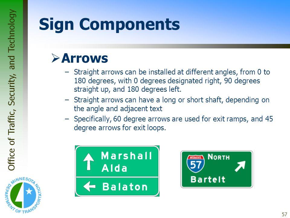Sign Components Arrows