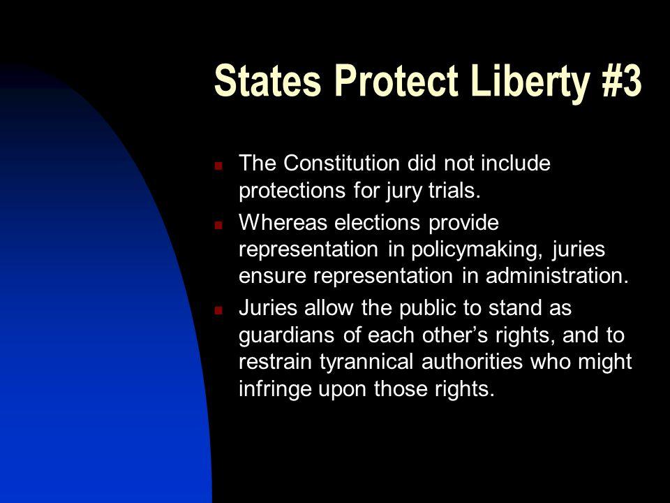 States Protect Liberty #3