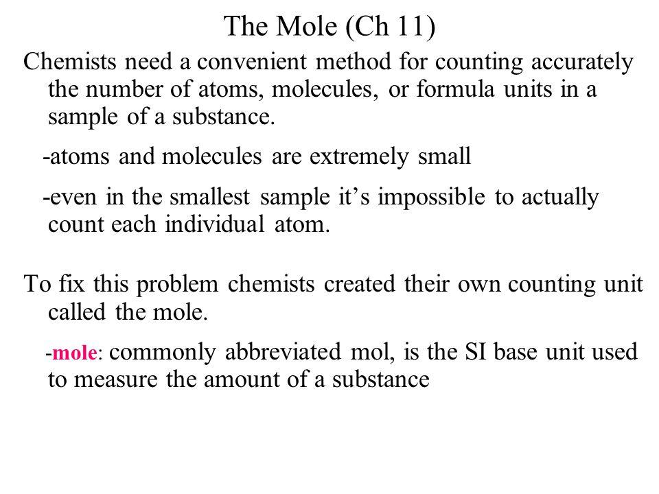 The Mole (Ch 11)