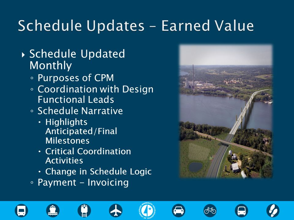 Schedule Updates – Earned Value